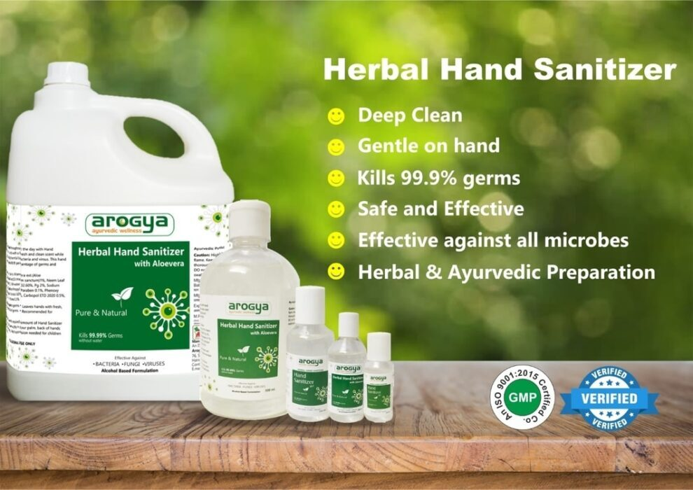 arogya third party hand sanitizer manufacturer
