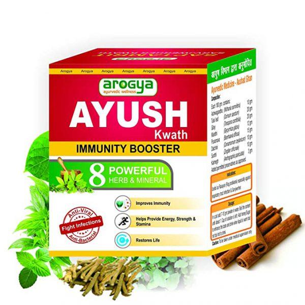 arogya ayush kwath immunity booster 100gm