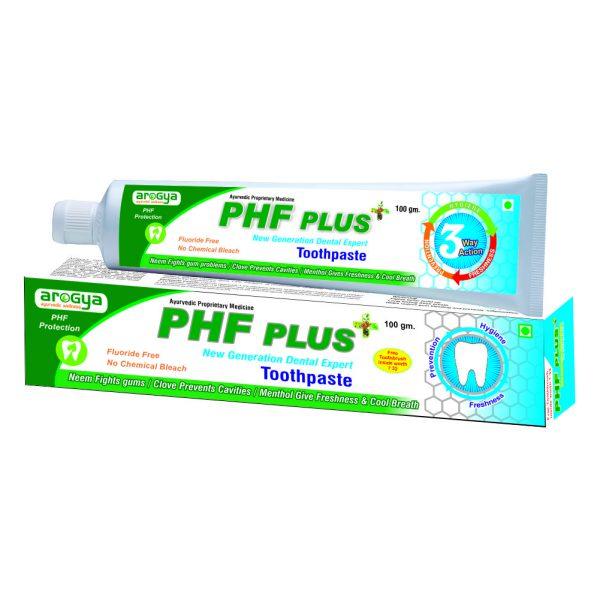 arogya phf toothpaste