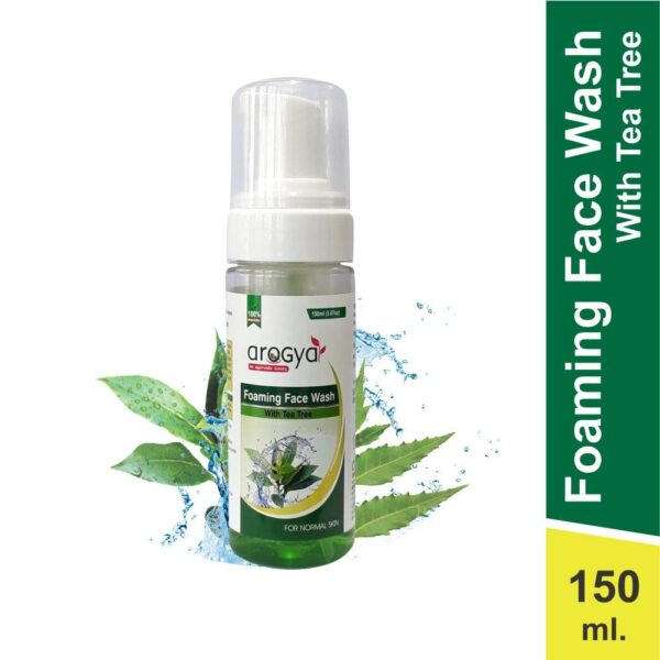 foaming face wash with tea tree