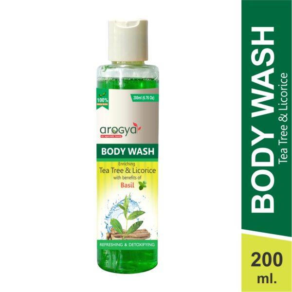 arogya tea tree body wash