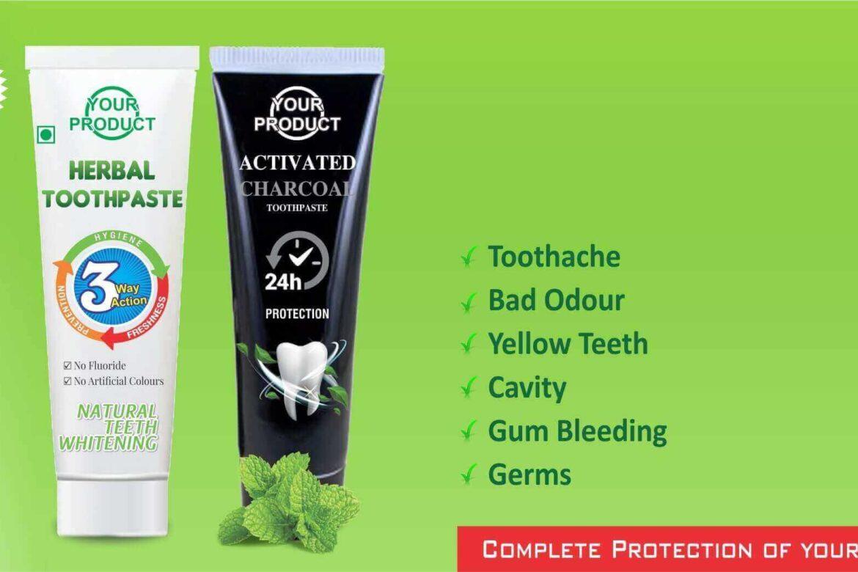 arogya third party toothpaste manufacturer